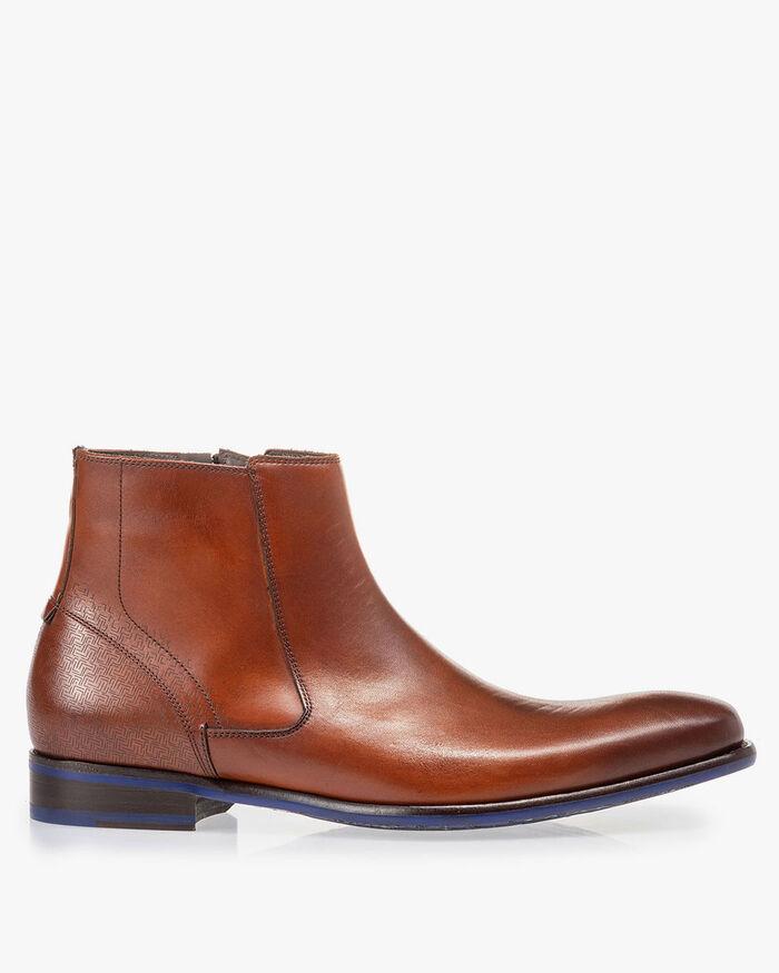 Chelsea boot cognac kalfsleer