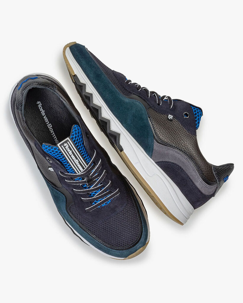 Nineti sneaker blauw