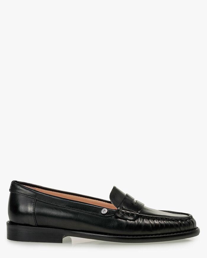 Loafer kalfsleer zwart