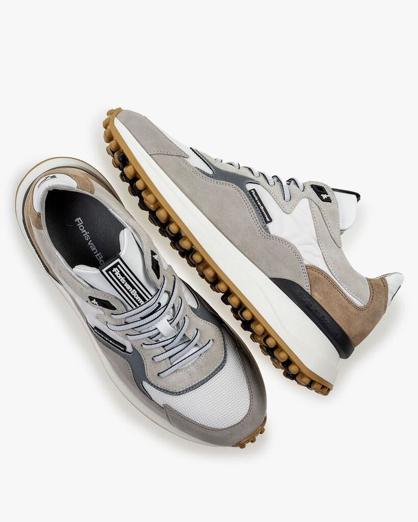 Noppi sneaker wit