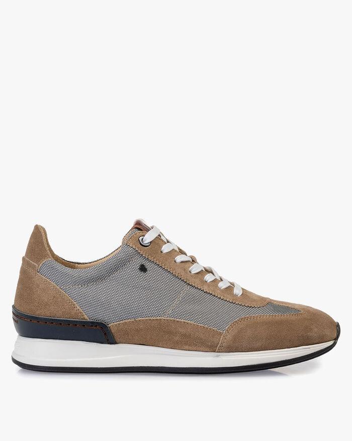 Sneaker Textil grau
