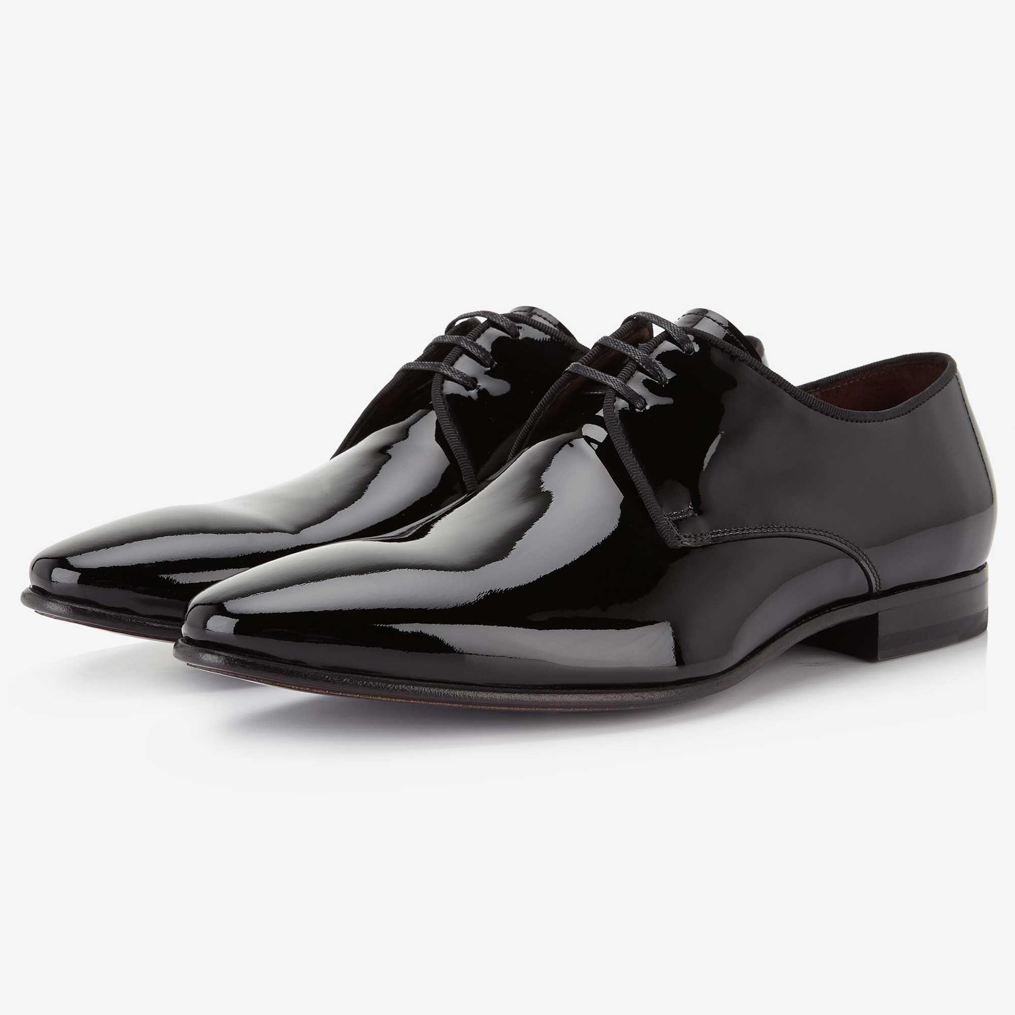 Chaussures Hommes Verni Noir Tw511tc7X