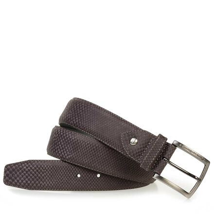 Belt made of leather