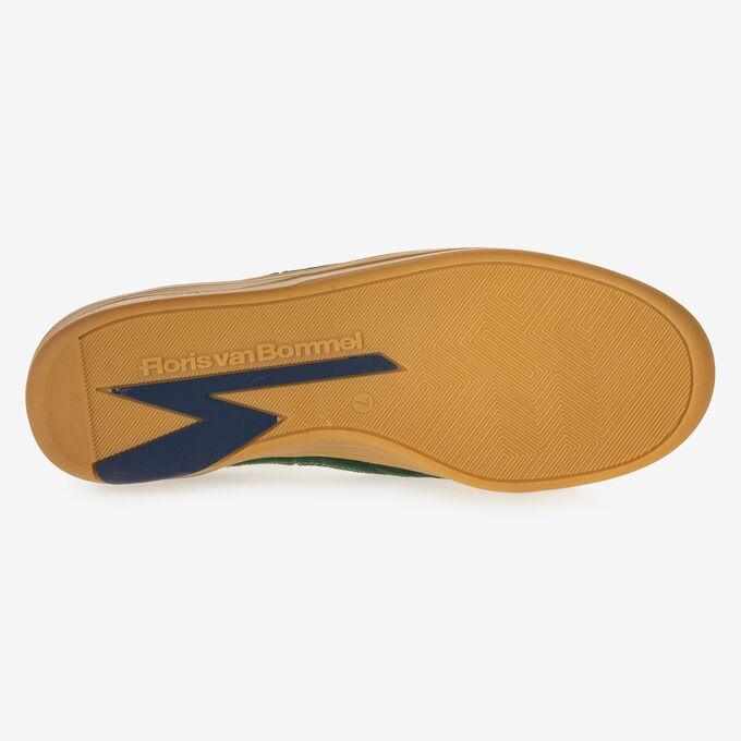 Sneaker suède groen