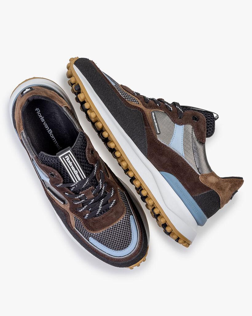 Noppi sneaker beige/zwart