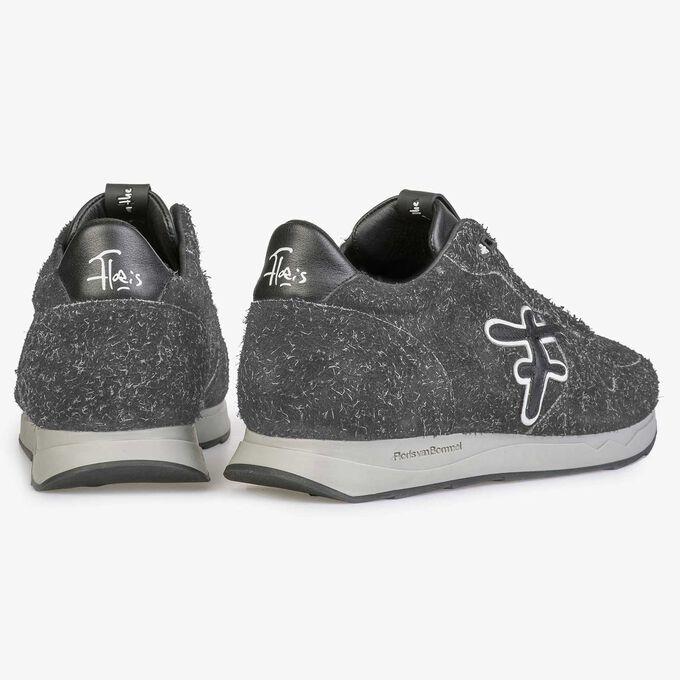 Leren sneaker met F logo