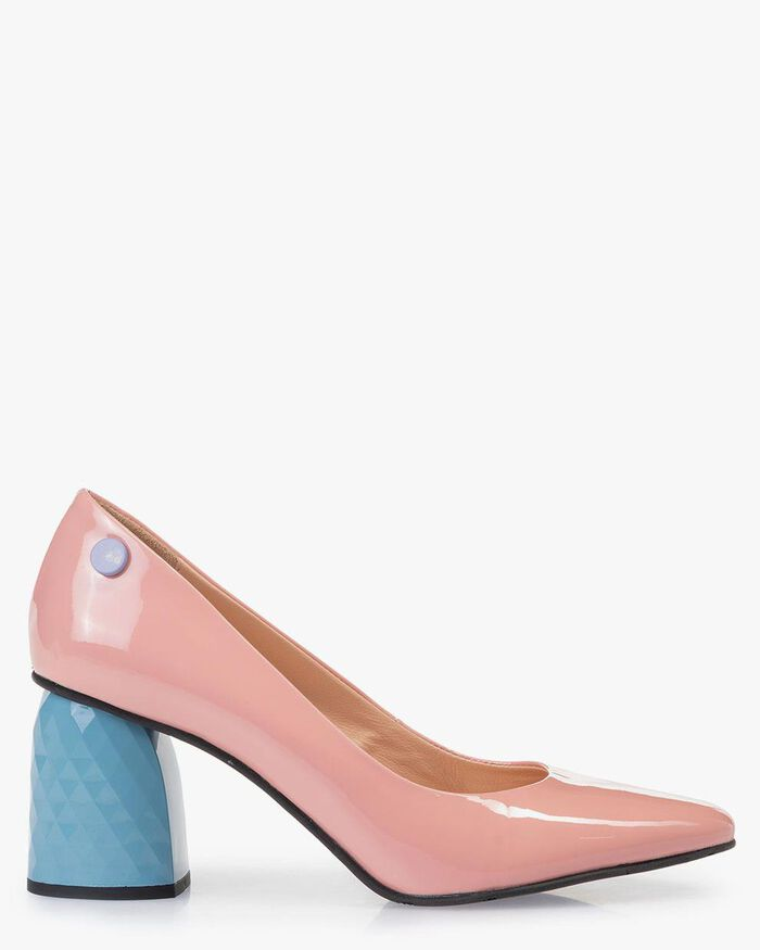 Pumps patent leather pink