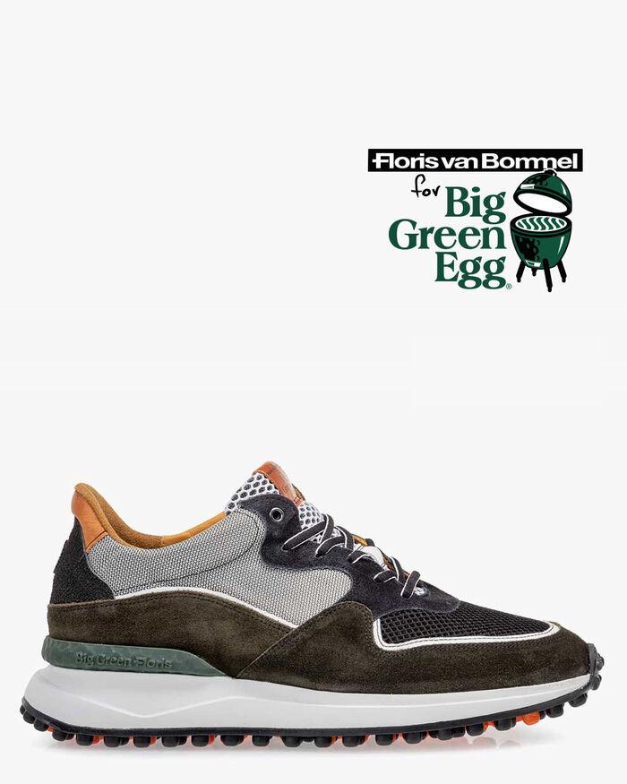Noppi Big Green Egg sneaker suède