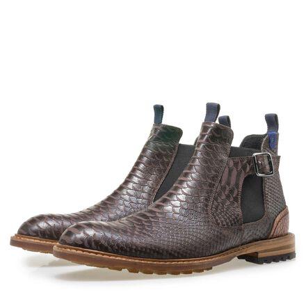 Floris van Bommel men's leather Chelsea boot