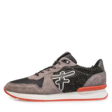 Premium suède gekleurde sneaker