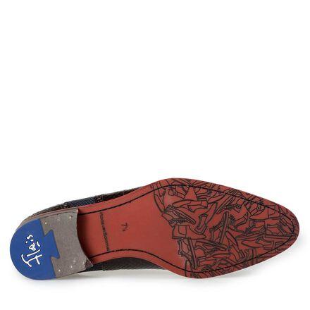 Floris van Bommel black leather lace shoe