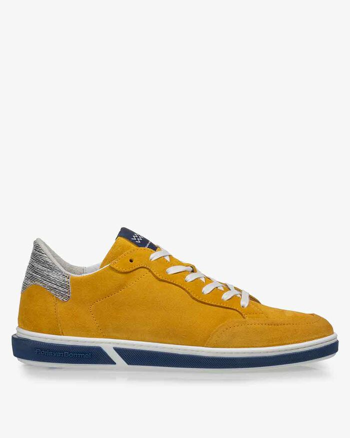 Sneaker suede yellow