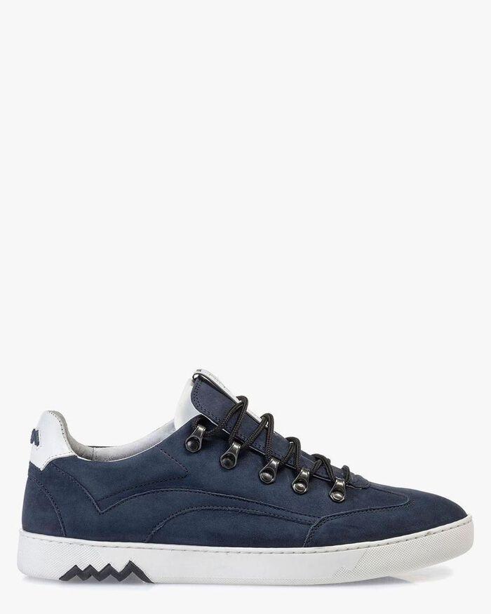 Hiking sneaker nubuck blauw
