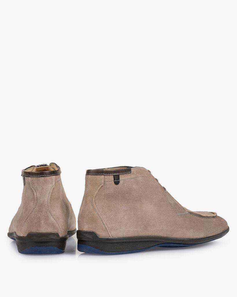 Boot zand suède
