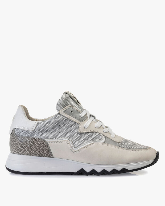 Nineti metallic light grey