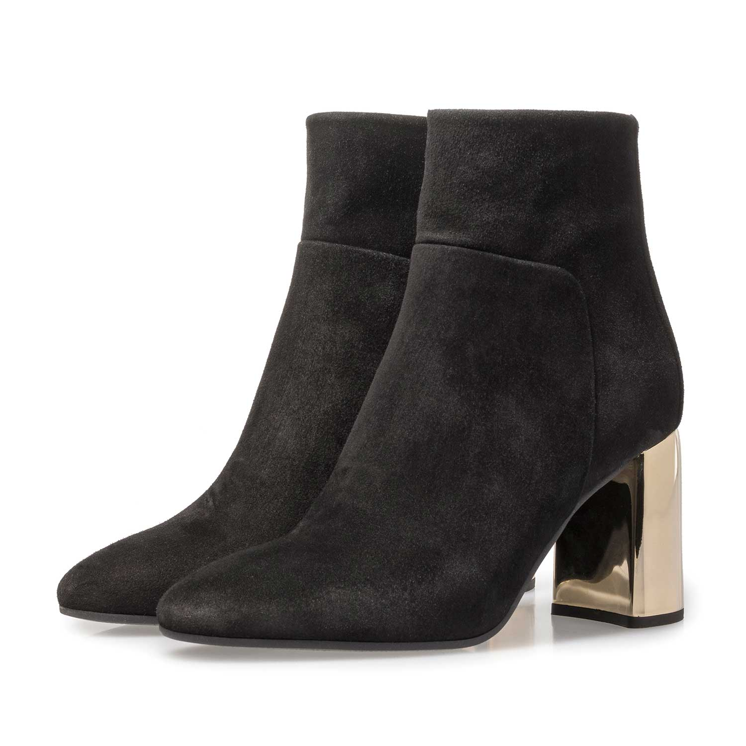 85624/00 - Black suede ankle boot