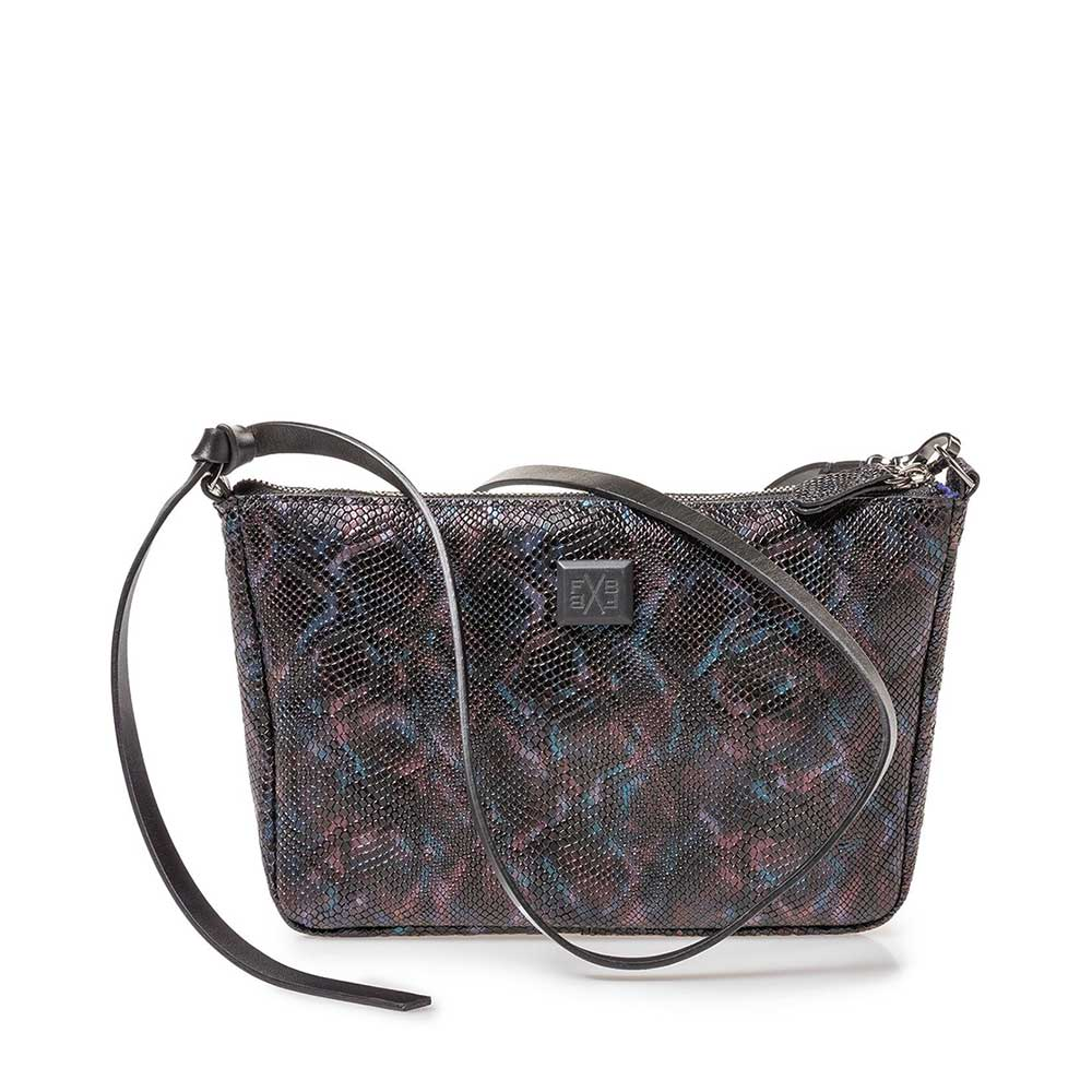 89019/33 - Bag croco print blue