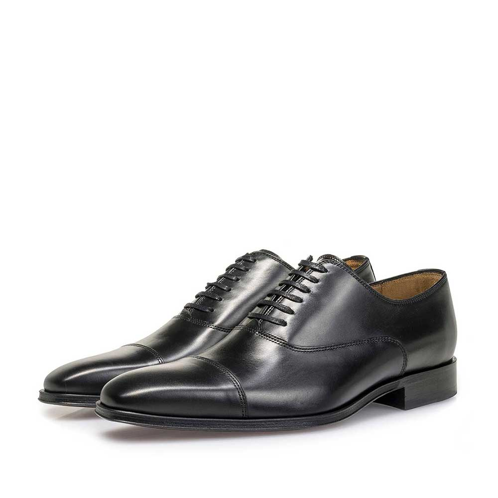 16199/00 - Black calf leather lace shoe