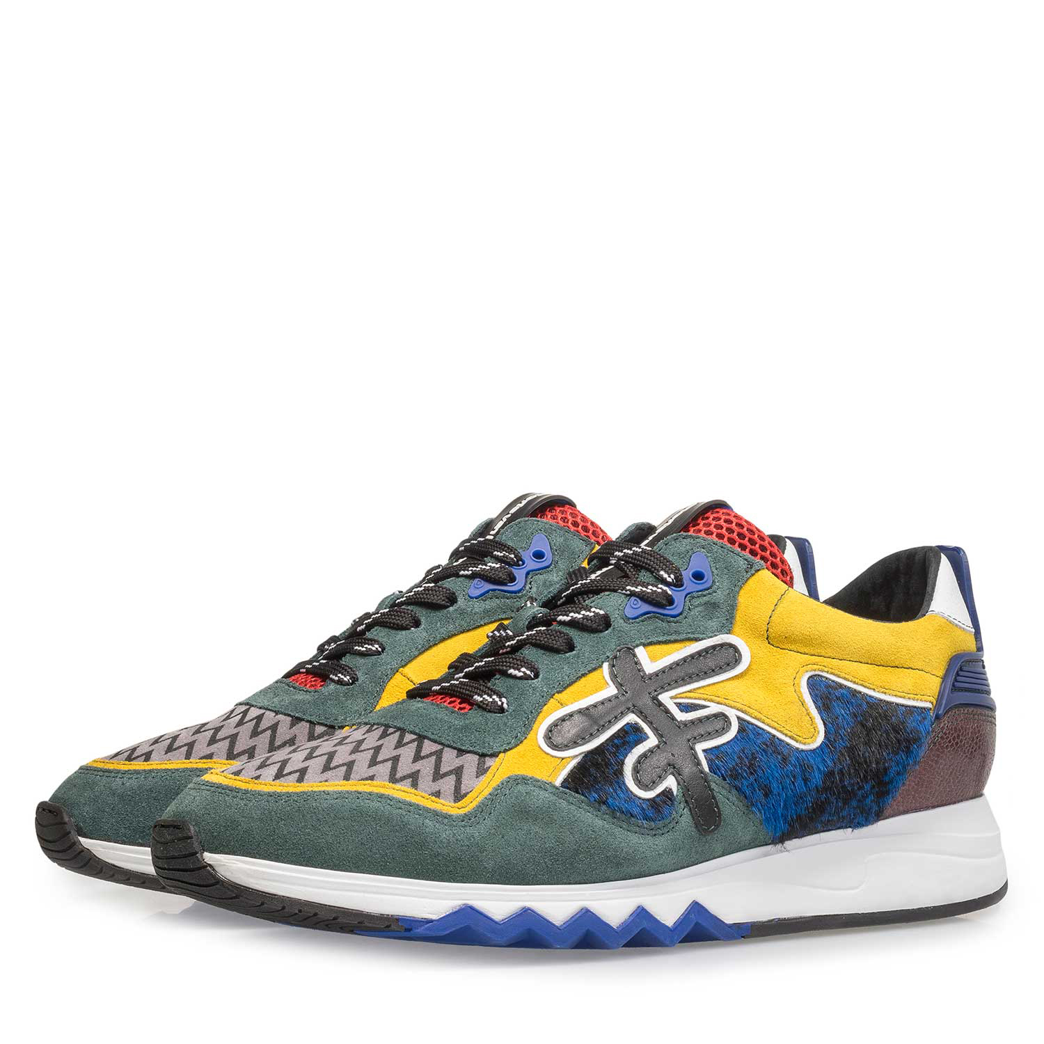 16194/02 - Premium multi-coloured sneaker