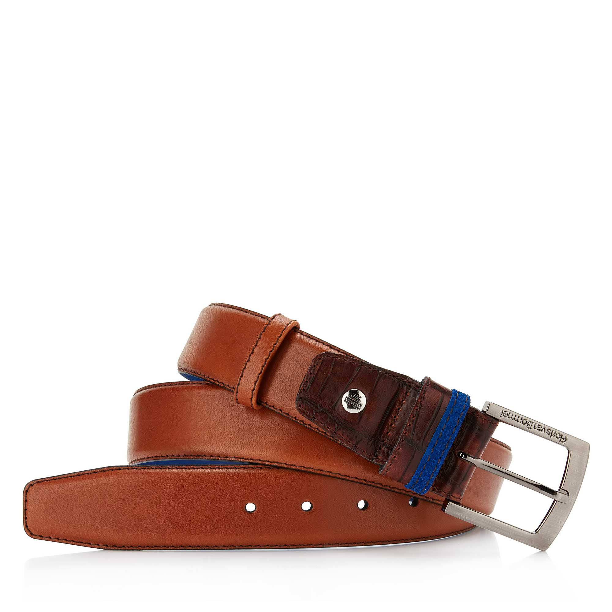 75004/01 - Cognac leather belt