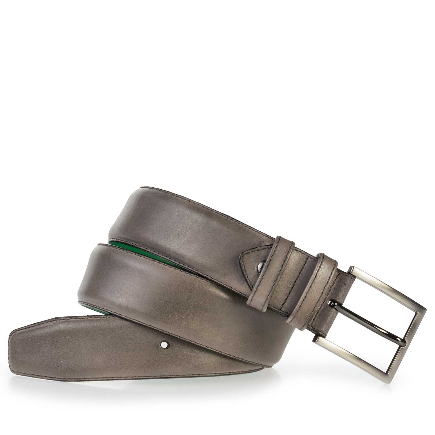 75178/02 - Taupe-coloured leather belt