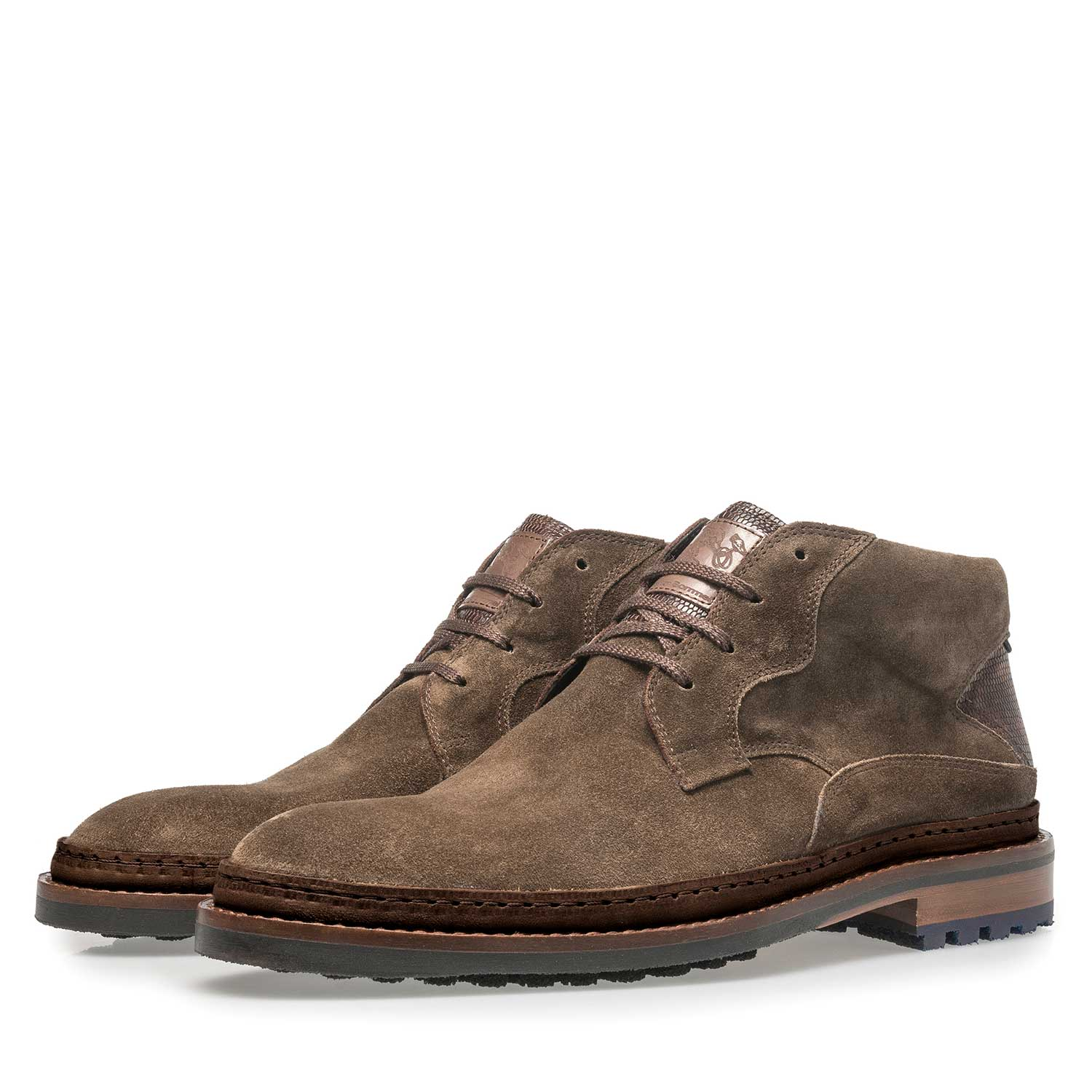 10509/04 - Suède veterboot donker taupe