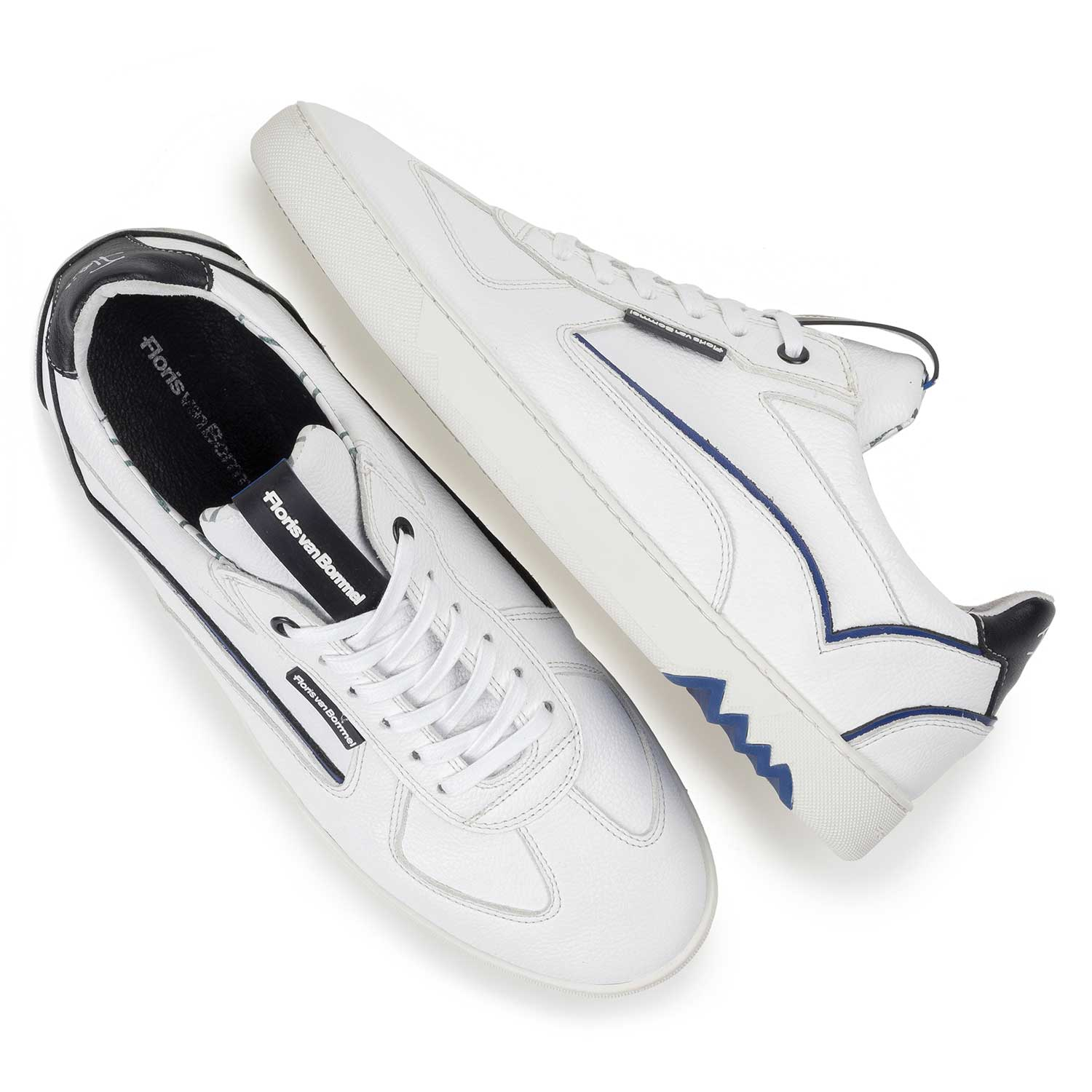 16342/11 - White calf leather sneaker